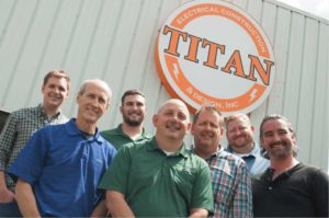 group of men involved in titan acquisition